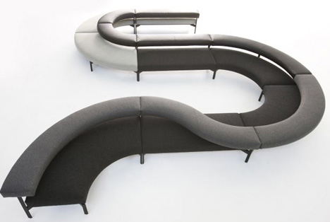Cool Curved Couch