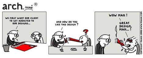 architecture architect comic comment truth commercial